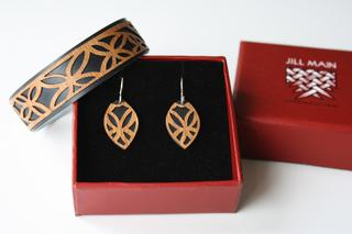 Narrow Cuffs and Earrings Boxed