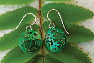 Aotearoa Spiral Earrings