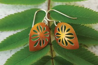 Cut Above Frangipani Earrings