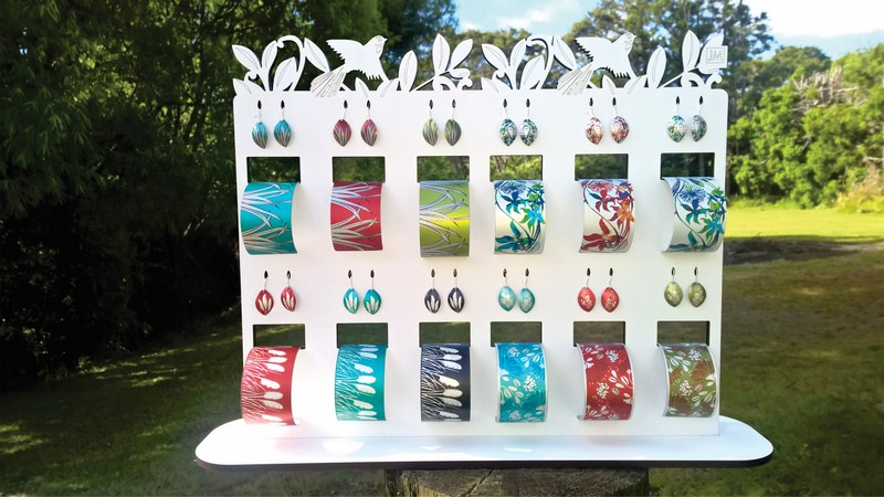 12 Earring and Cuff Display Stand